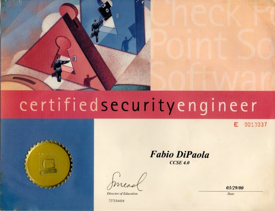 Checkpoint Certified Security Engineer