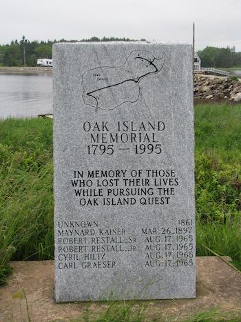 Oak Island Memorial